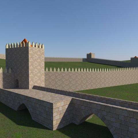 Ponte de Lima - Castelo Século XIV